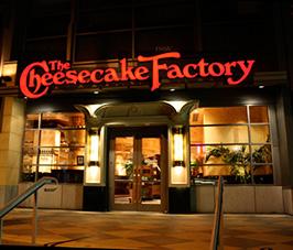 舊金山包車遊 - Cheesecake Factory