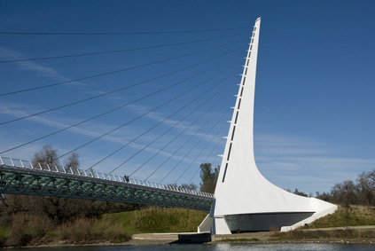 Sundial Bridge Redding California 2